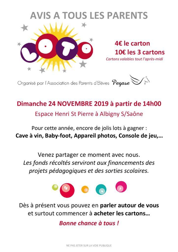 thumbnail of flyer cahier LOTO pour vente cartons